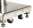 Self-compensating Floor Locking System